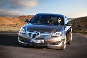 Немецкий концерн представил обновленную модель Opel Insignia