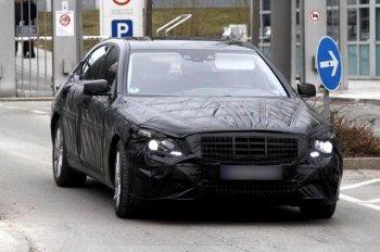 Шпионам попался кабриолет Mercedes S-класс