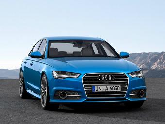 Объявлены цены на обновленные модели Audi A6