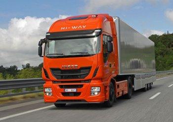 В Россию привезут Iveco Stralis Hi-Way LNG