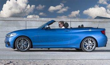 BMW 2-Series появился в кузове кабриолет