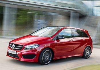 Показана внешность обновленного Mercedes-Benz B-Class
