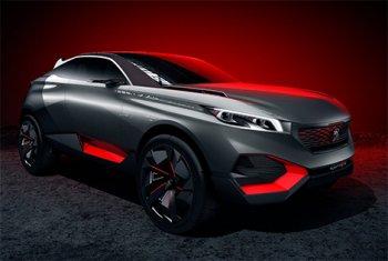В Париже будет показан концептуальный гибрид Peugeot Quartz