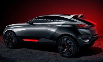 Французы показали гибридный концепт Peugeot Quartz