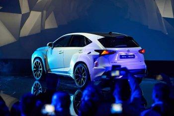 Солист группы Black Eyed Peas сделал тюнинг автомобиля Lexus NX