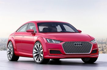 Автомобилестроители показали Audi TT Sportback