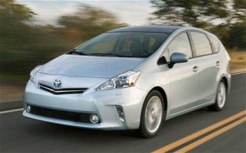 Прошло обновление модели Toyota Prius+