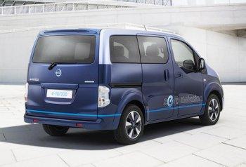 Nissan выпустит особую версию e-NV200 – VIP