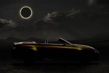 В сети появилось рекламное изображение концепта Lexus LF-C2