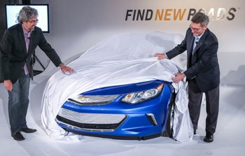 Chevrolet Volt нового поколения оснастят особой зарядкой