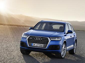 Рассекречено второе поколение автомобиля Audi Q7
