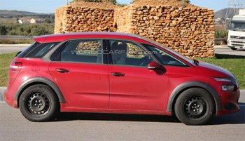 Начались тесты обновленного автомобиля Citroen C4 Picasso