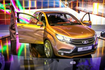 АвтоВаз готов потратить более 100 млрд. рублей на новые Lada Xray и Vesta
