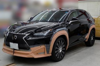 Тюнинг Lexus NX от ателье Wald