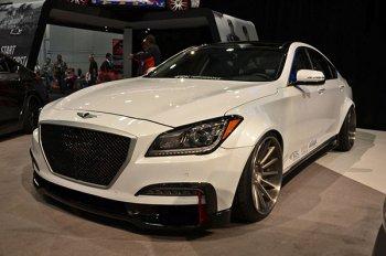 Тюнинг Hyundai Genesis от ателье ARK Performance