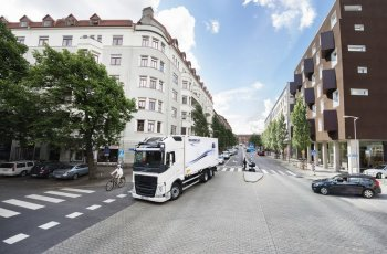 Грузовики Volvo оснастят системой активной безопасности