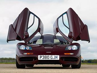 Мистер Бин собирается продать свой McLaren F1