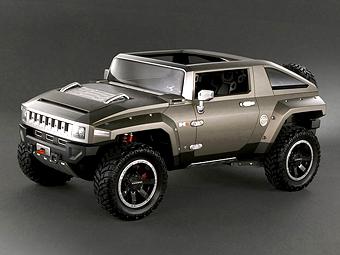 Hummer HX Concept может стать серийным авто