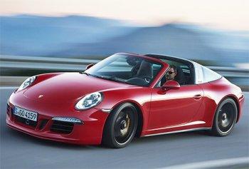 Официально представлен автомобиль Porsche 911 Targa GTS
