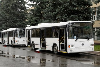 Автобусы ЛиАЗ-529354 будут работать в Кирове