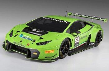 Рассекречен автомобиль Lamborghini Huracan GT3