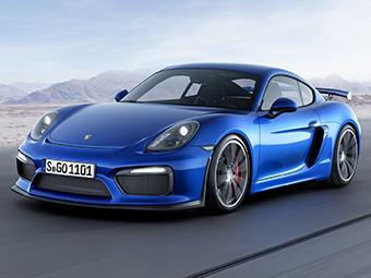 Porsche Cayman GT4 будет представлен в марте этого года