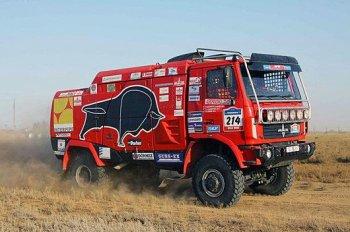 МАЗ начнет продавать гоночные грузовики